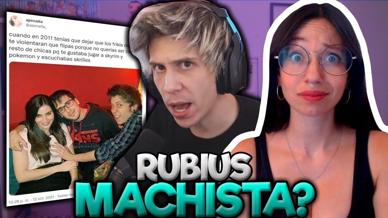 RUBIUS CANCELADO por MACHISTA
