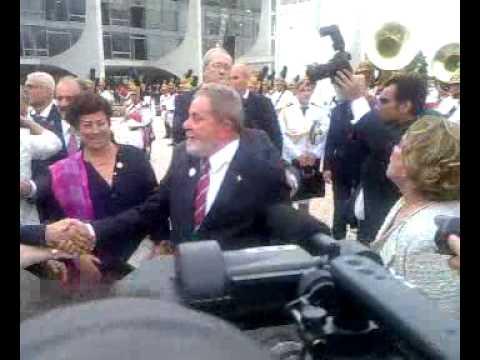 Qik - Despedida de Lula by Blog  do Planalto