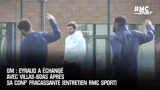 OM : Eyraud a échangé avec Villas-Boas après sa conf' fracassante (Entretien RMC Sport)
