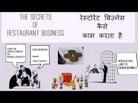 रेस्टोरेंट्स बिज़्नेस के सीक्रेट्स | SECRET PSYCHOLOGY OF RESTAURANT BUSINESS [HINDI]