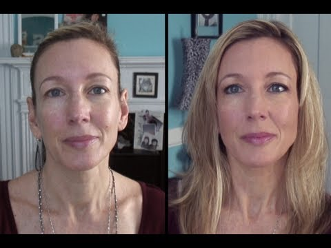 look younger foundation tutorial for mature skin youtube