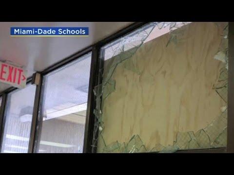 Miami-Dade Elementary School Vandalized