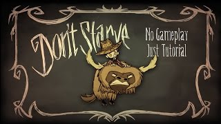 All About Beefalo Taming (Don't Starve Together No Gameplay, Just Tutorial)