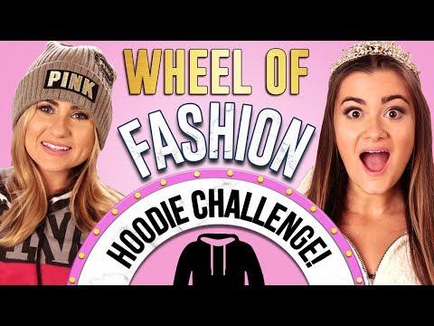 HOODIE CHALLENGE?! Wheel of Fashion w/ CloeCouture & Mia!