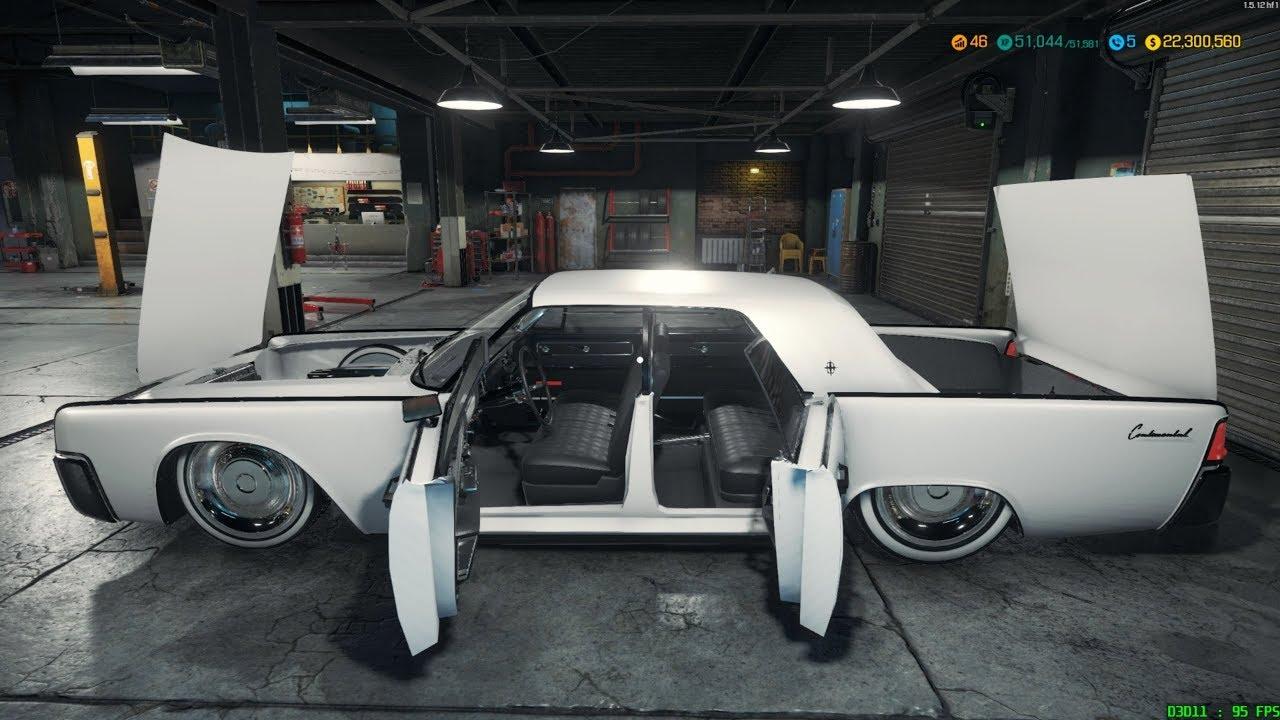 Car Mechanic Simulator 2018 Lincoln Continental Mib Restoration Upgrades And Dyno