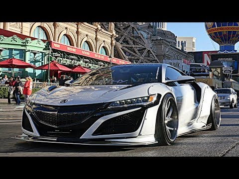 PEOPLES REACTION TO THE ARMYTRIX EXHAUST 2017 ACURA NSX (エヌエスエックス) LIBERTY WALK!