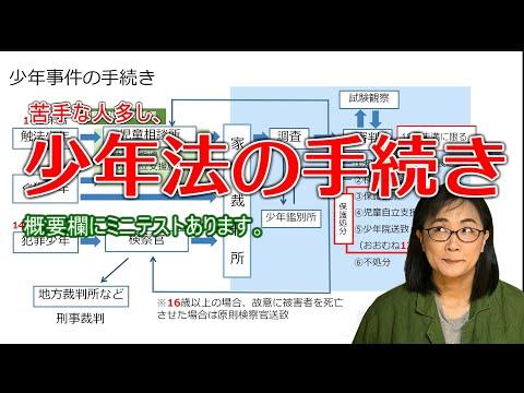 【公認心理師受験】少年法の手続き