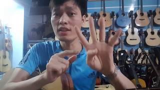 [Tự Học Guitar đệm hát - 4 bài học guitar đệm hát cơ bản] Bài ĐẦU TIÊN