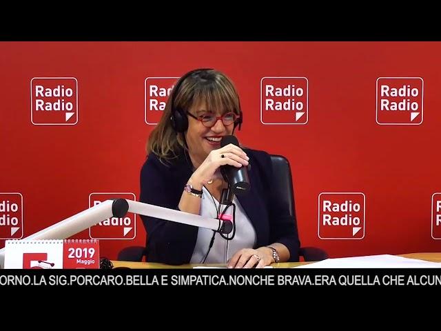 Rosalia Porcaro a Io le donne non le capisco - 25 Maggio 2019