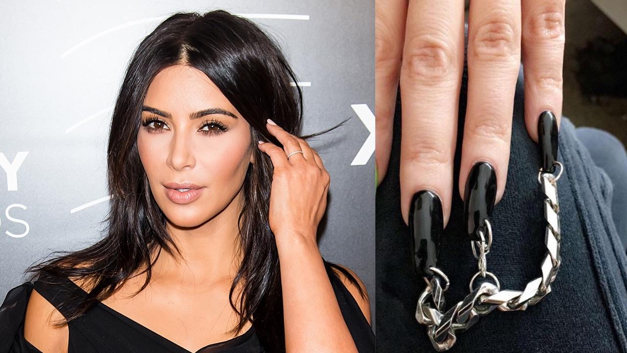 Kim Kardashian Rocks PIERCED Nails & Plans To Release Children\'s ...