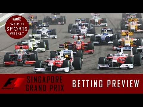 2013 F1 Singapore Grand Prix 21.09.13 | Formula 1 Betting Preview