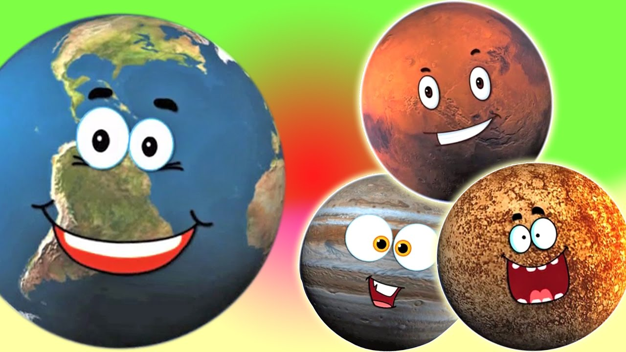 Мультики про планеты картинки