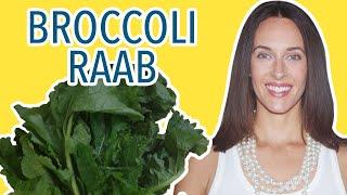 Broccoli Rabe (Raab, Rapini) Recipe Demo from The Palm Restaurant Cookbook