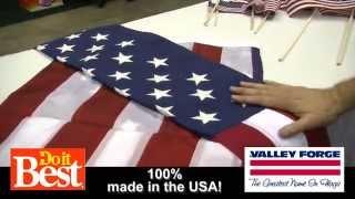 Valley Forge Flag - Choosing a Flag