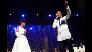 DEBORAH LUKALU Feat.LORD LOMBO - TU ES PUISSANT/CALL ME FAVOUR LIVE |OFFICIAL VIDEO| thumbnail