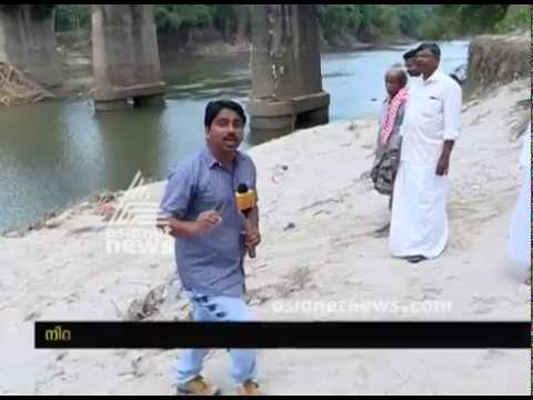 Pathetic condition of the Pamba river after flood