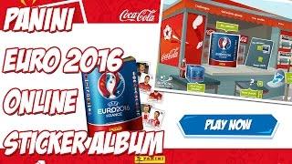 FREE CODES! Panini EURO'2016 ONLINE Sticker Album!!! PANINI OPENED BOX #10