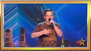 ¿Puede un niño vacilar al jurado rapeando? ¡Claro que sí! | Audiciones 3 | Got Talent España 2019