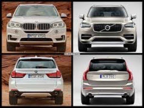 All New Bmw X5 Vs Volvo Xc90 2018