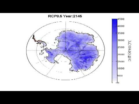 Worst case global warming melting for Antarctica