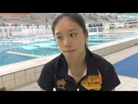 Australian diver Esther Qin