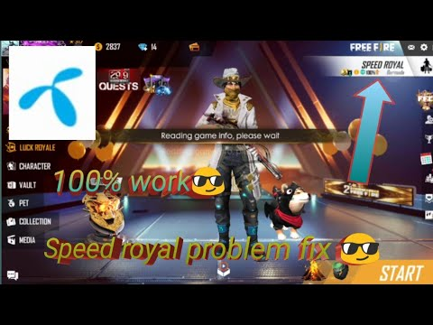 Free Fire Speed Royal😠 Problem Fix.😎 100% Work For Gp And Another's Sim.