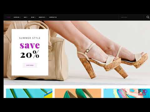 Shoe Store Responsive Shopify Theme TMT | Free Template  Luther Ferdi