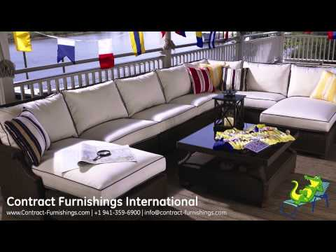 Lloyd Flanders Commercial Patio Furniture available from Contract Furnishings International
