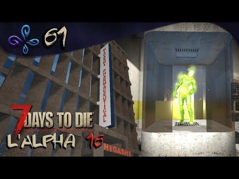 Visite mouvementée de l'Higashi building - 7 DAYS TO DIE (Alpha 16) [Fr] #61
