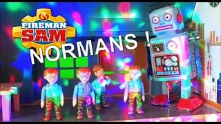 Feuerwehrmann Sam / Fireman Sam - Naughty Norman's Robot ! Peppa Pig goes for help
