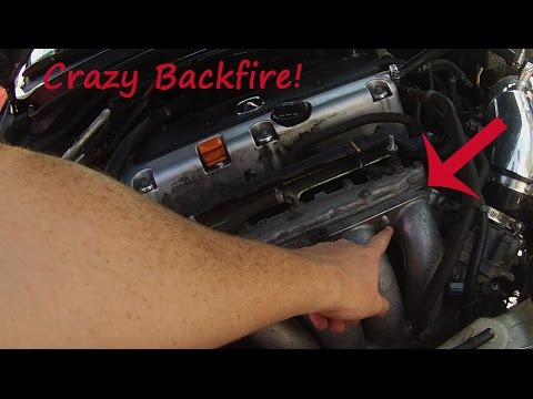 How To Make You Car Backfire More! Acura TSX Manifold Install