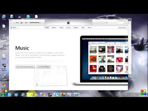 How to put music on ipodiphone with itunes