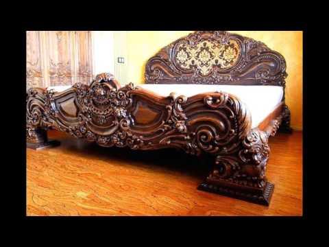 Резная мебель из