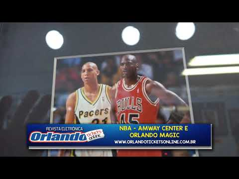 VIDEO 33 NBA AMWAY CENTER E ORLANDO MAGIC