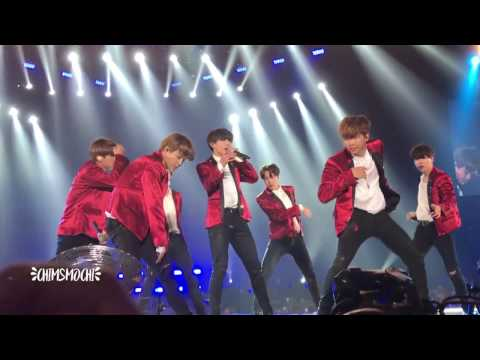 BTS - CYPHER PT. 4 + FIRE HD (Jakarta Wings Tour 2017) 170429