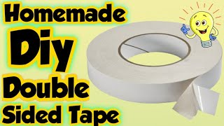Homemade Double sided tape - how to make double sided tape at home easy/Make diy double tape at home
