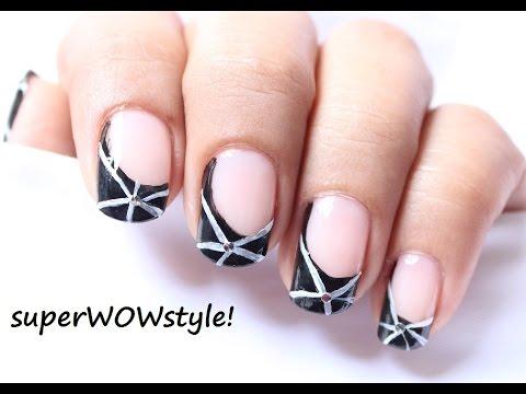 Easy nail art drawing nail designs for beginners to do at home youtube - Nail designs for beginners at home ...
