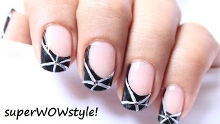 Easy Nail Art Drawing  ** Nail Designs For Beginners To Do At Home!