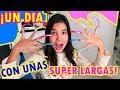 Download mp3 UN DÍA CON UÑAS EXTREMADAMENTE LARGAS | TV Ana Emilia for free