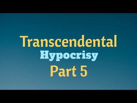 Transcendental Hypocrisy - Part 5 | Amarendra Dāsa |