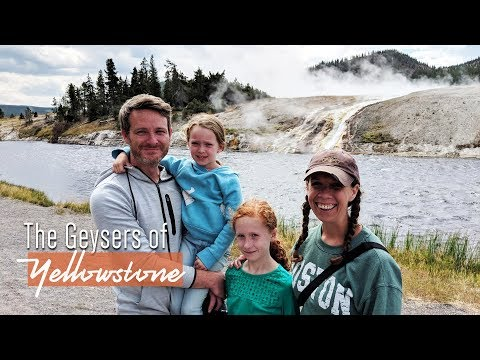 Exploring Yellowstone National Park's Geysers - Full-time RV Travel