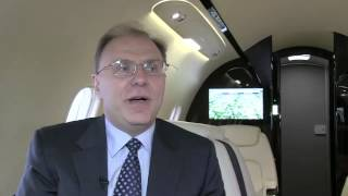 Bombardier Unveils Challenger 350 At Ebace