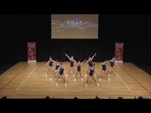 St Mary's College 2017 FISAF Sports Aerobics - NATIONAL CHAMPIONS - Winning Routine.