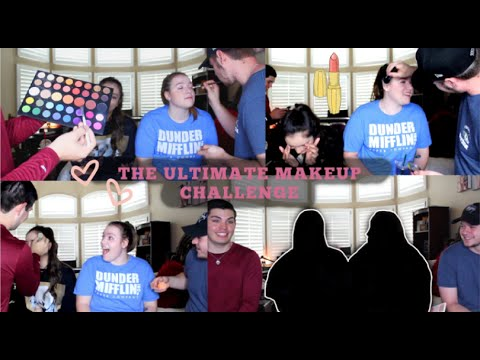 BOYS DO OUR MAKEUP  FT MY FAVORITE PEOPLE