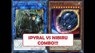 [YUGIOH] OCG SPYRAL vs Nibiru Combo!!!