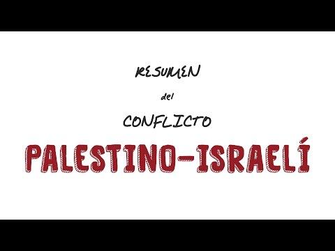 Resumen Del Conflicto Palestino-israelí