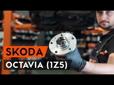 Как заменить подшипник ступицы заднего колеса на OCTAVIA (1Z5) [ВИДЕОУРОК AUTODOC]