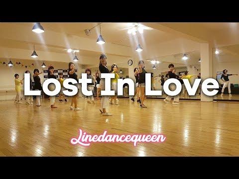 Lost In Love Line Dance (Intermediate Rolling 8-Count) Maddison Glover & Simon Ward Demo & Count