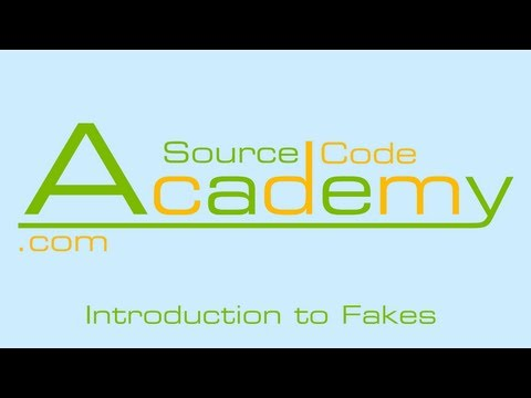 Introduction to using Fakes in Unit Testing (#3)