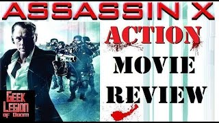 ASSASSIN X ( 2016 Olivier Gruner ) aka THE CHEMIST Action Movie Review